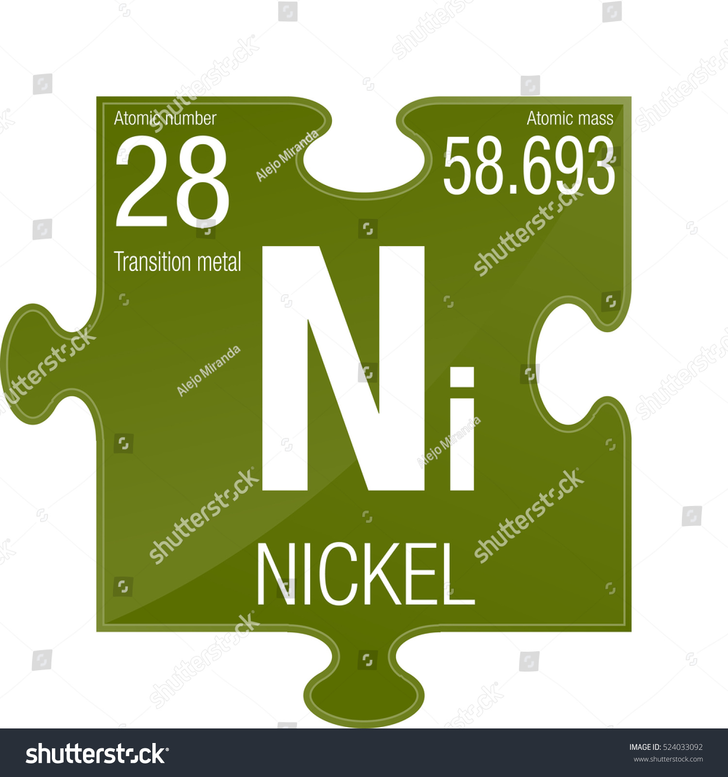 Nickel symbol element number 28 periodic stock vector 524033092 nickel symbol element number 28 of the periodic table of the elements chemistry gamestrikefo Gallery