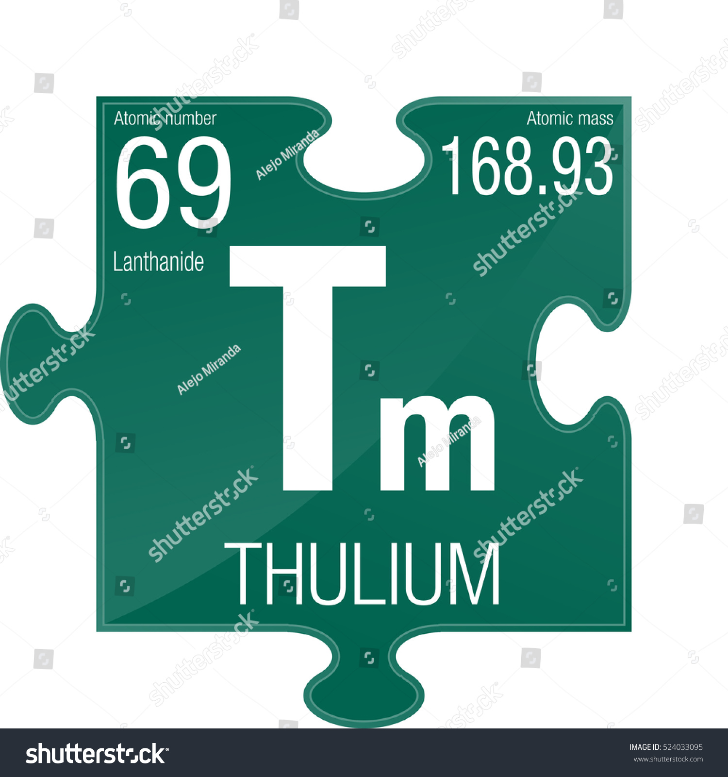 Thulium symbol element number 69 periodic stock vector 524033095 thulium symbol element number 69 of the periodic table of the elements chemistry gamestrikefo Gallery