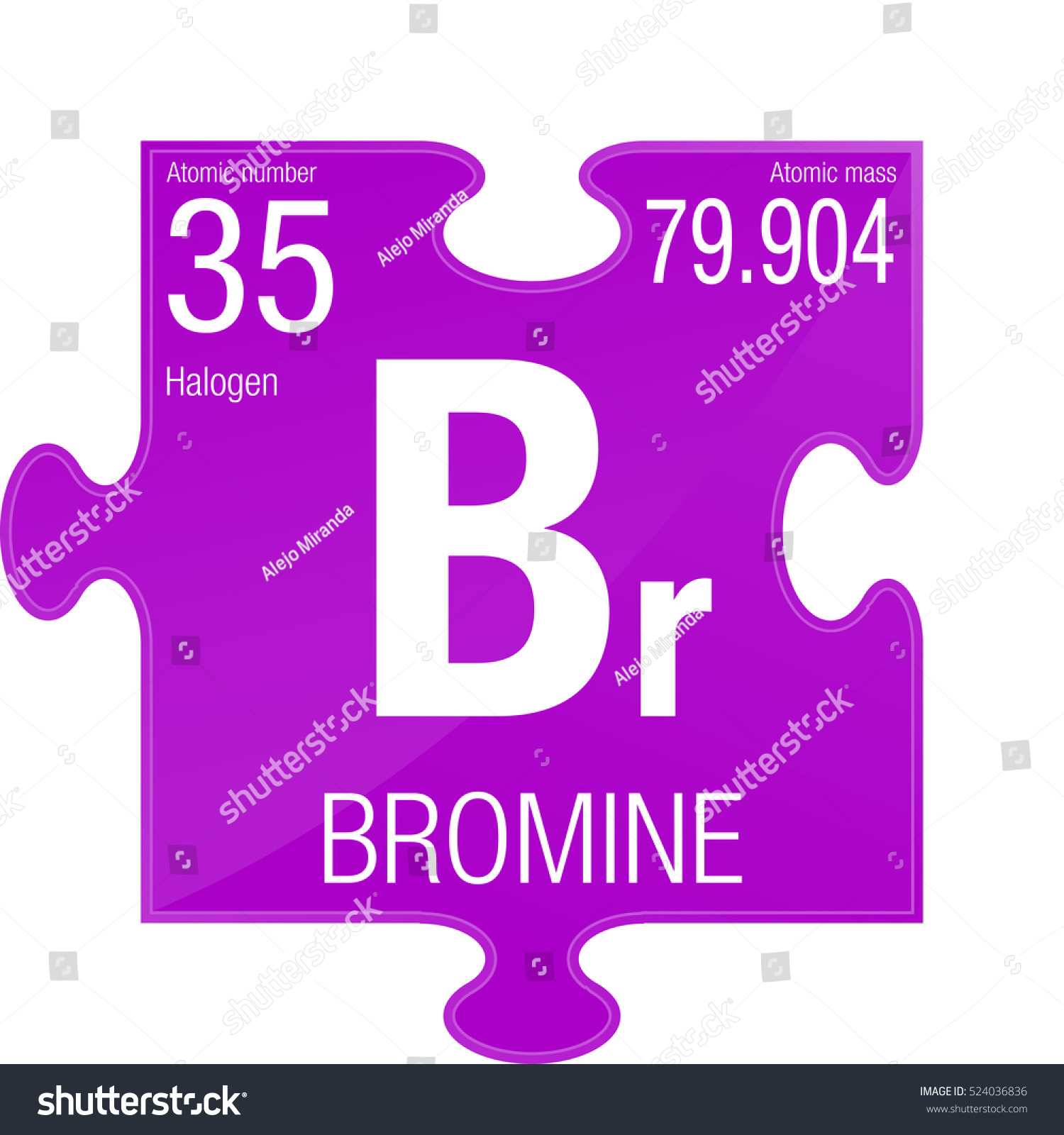 Bromine symbol element number 35 periodic stock vector 524036836 bromine symbol element number 35 of the periodic table of the elements chemistry biocorpaavc