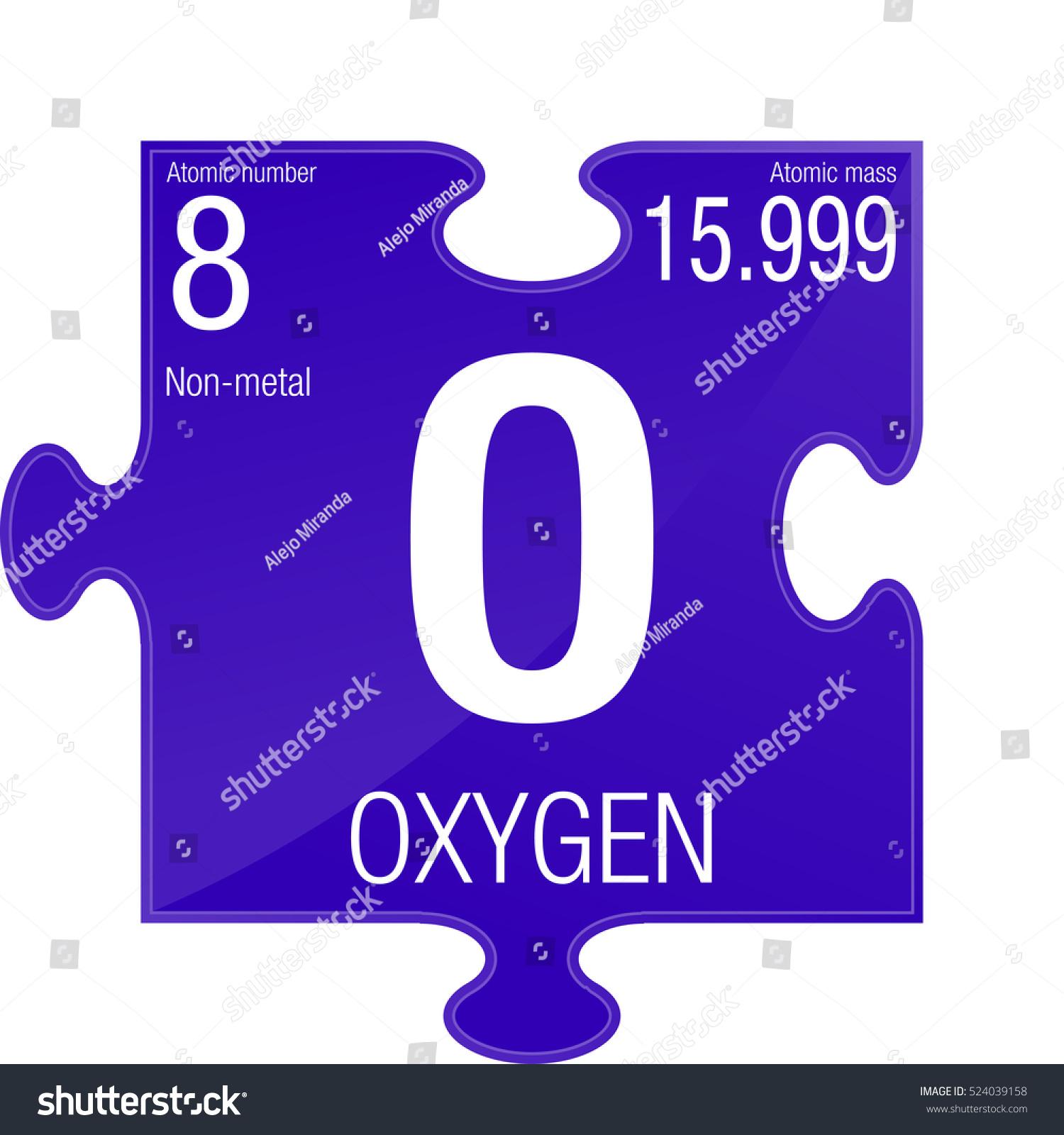 Oxygen symbol element number 8 periodic stock vector 524039158 element number 8 of the periodic table of the elements chemistry urtaz Image collections