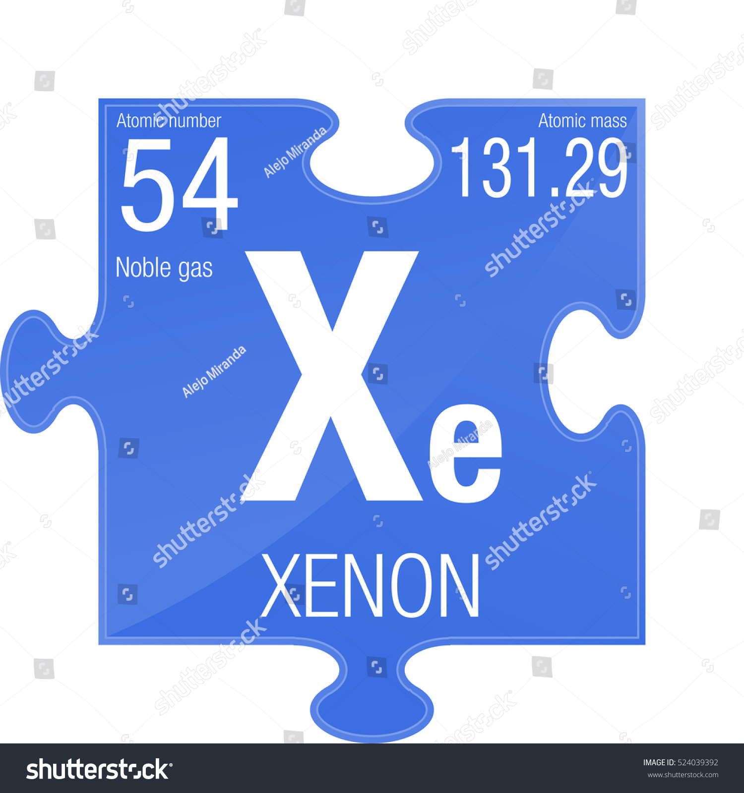 Xenon symbol element number 54 periodic stock vector 524039392 xenon symbol element number 54 of the periodic table of the elements chemistry gamestrikefo Images
