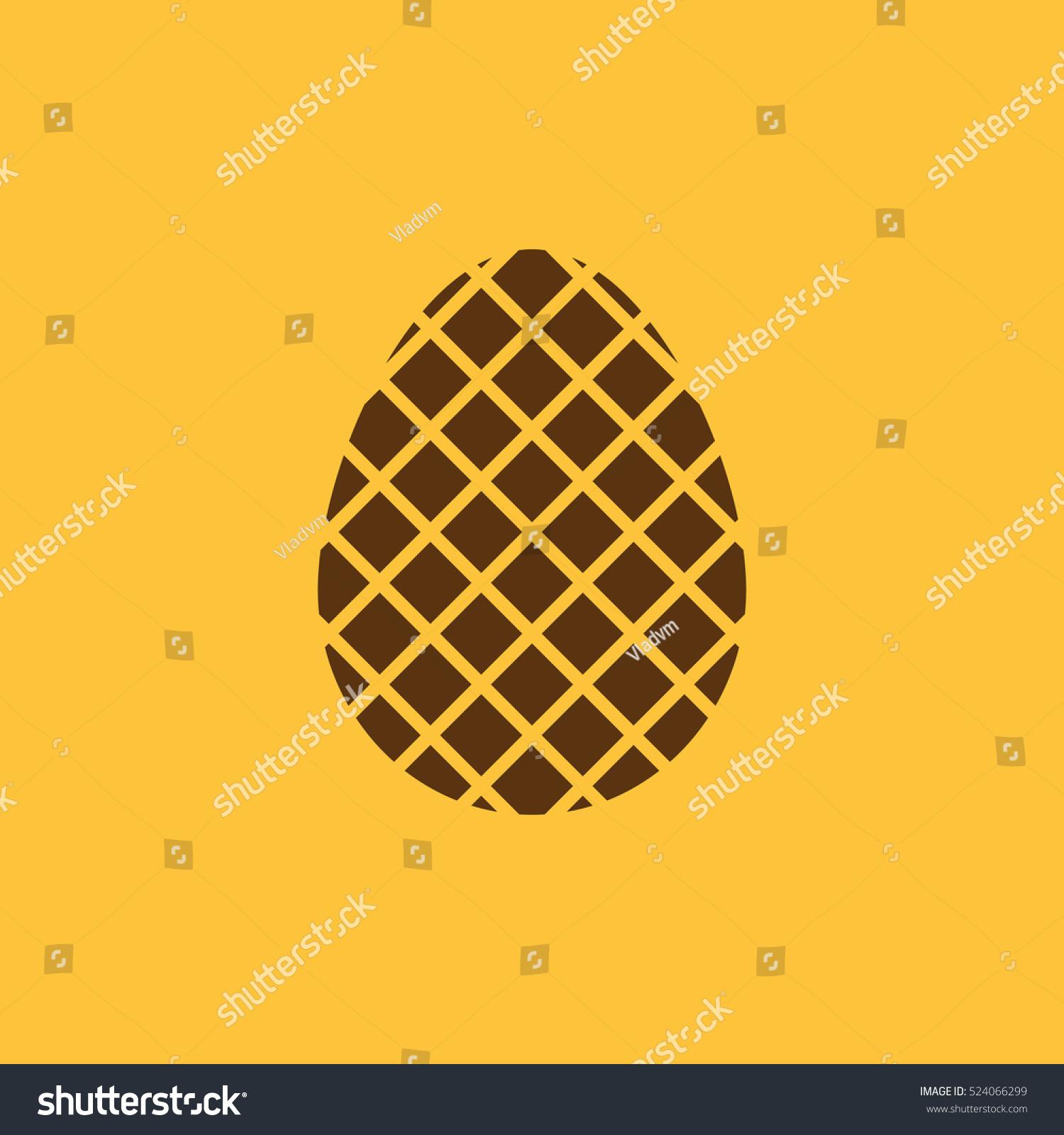 Egg icon easter egg symbol ui stock illustration 524066299 the egg icon easter egg symbol ui web logo sign buycottarizona