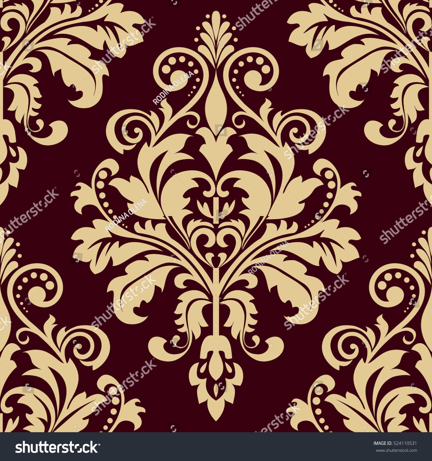 baroque print wallpaper - photo #20