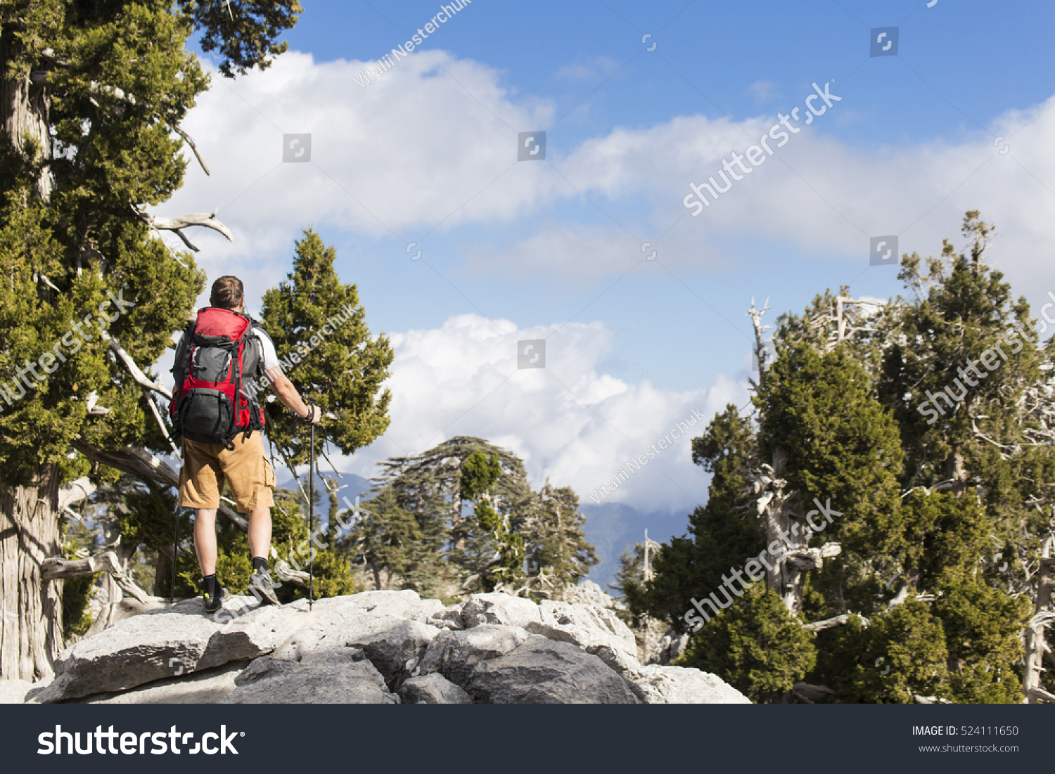 9cbb30fc564d Man Traveler with backpack trekking Travel Lifestyle concept mountains on background  Summer vacations activity outdoor aerial