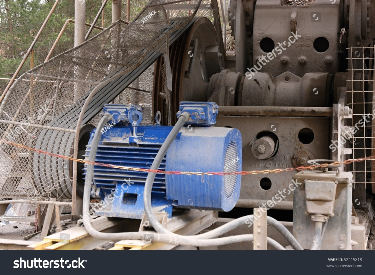 electric motor belt drive stock photo 52415818 shutterstock