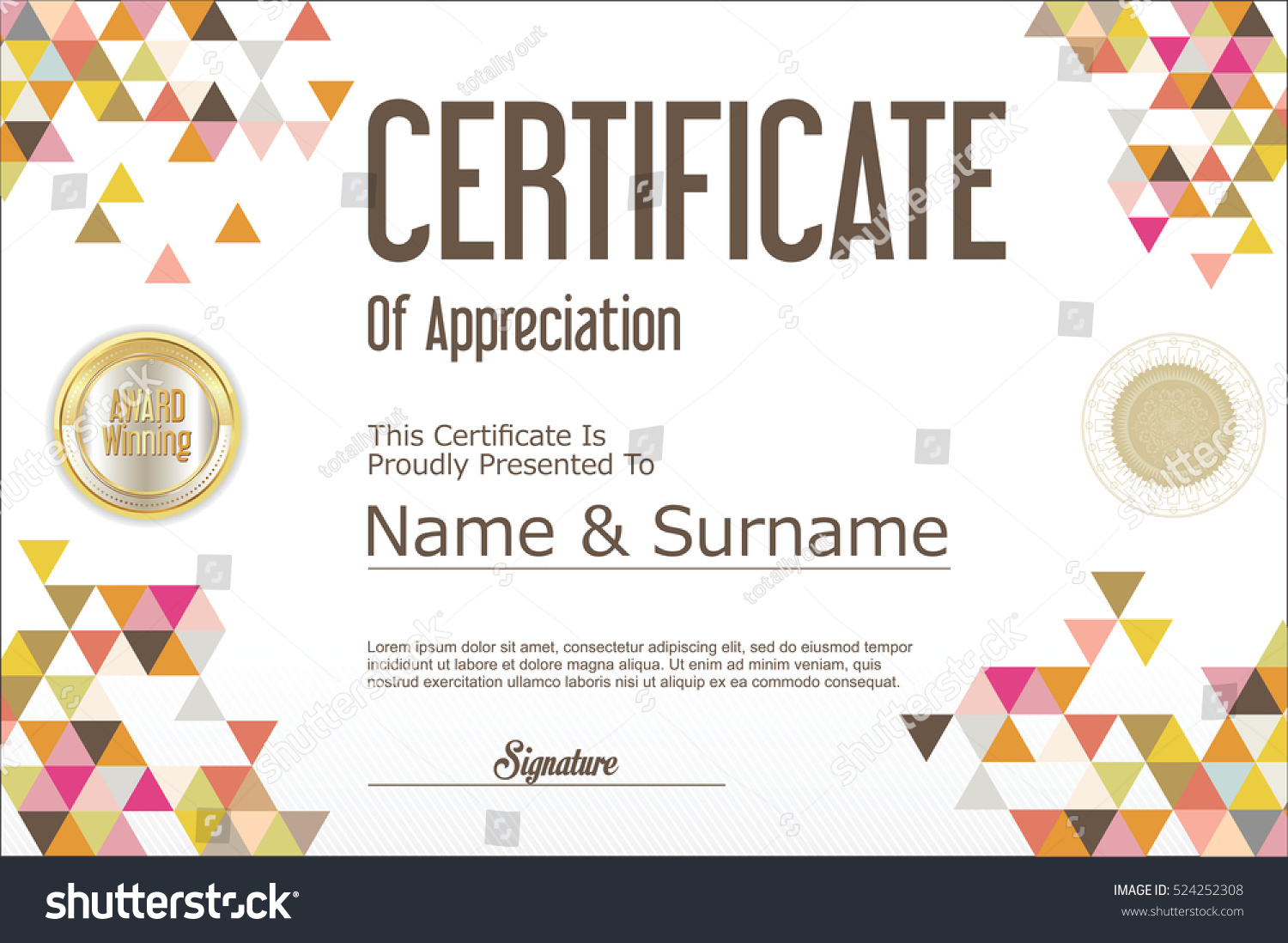 Excellence Certificate Templates Certificate Employee Of The Month