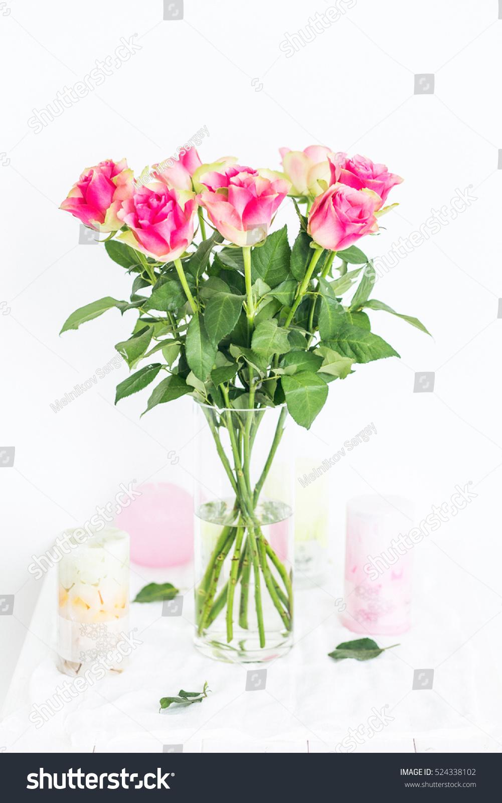Bouquet beautiful flowers roses catalog on stock photo edit now bouquet of beautiful flowers of roses for catalog on white background izmirmasajfo