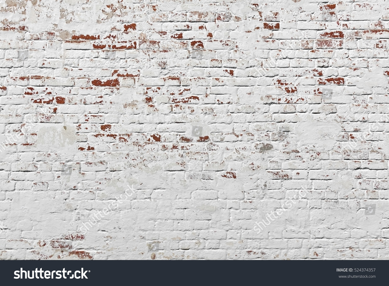 red white wall background old grungy brick wall horizontal texture brickwall backdrop stonewall