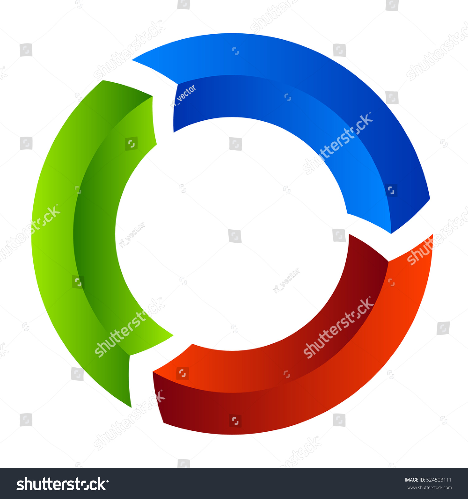 Process cycling arrow by arrow royalty free stock images image - Segmented Circle Arrow Circular Arrow Icon Process Progres Rotation Icon