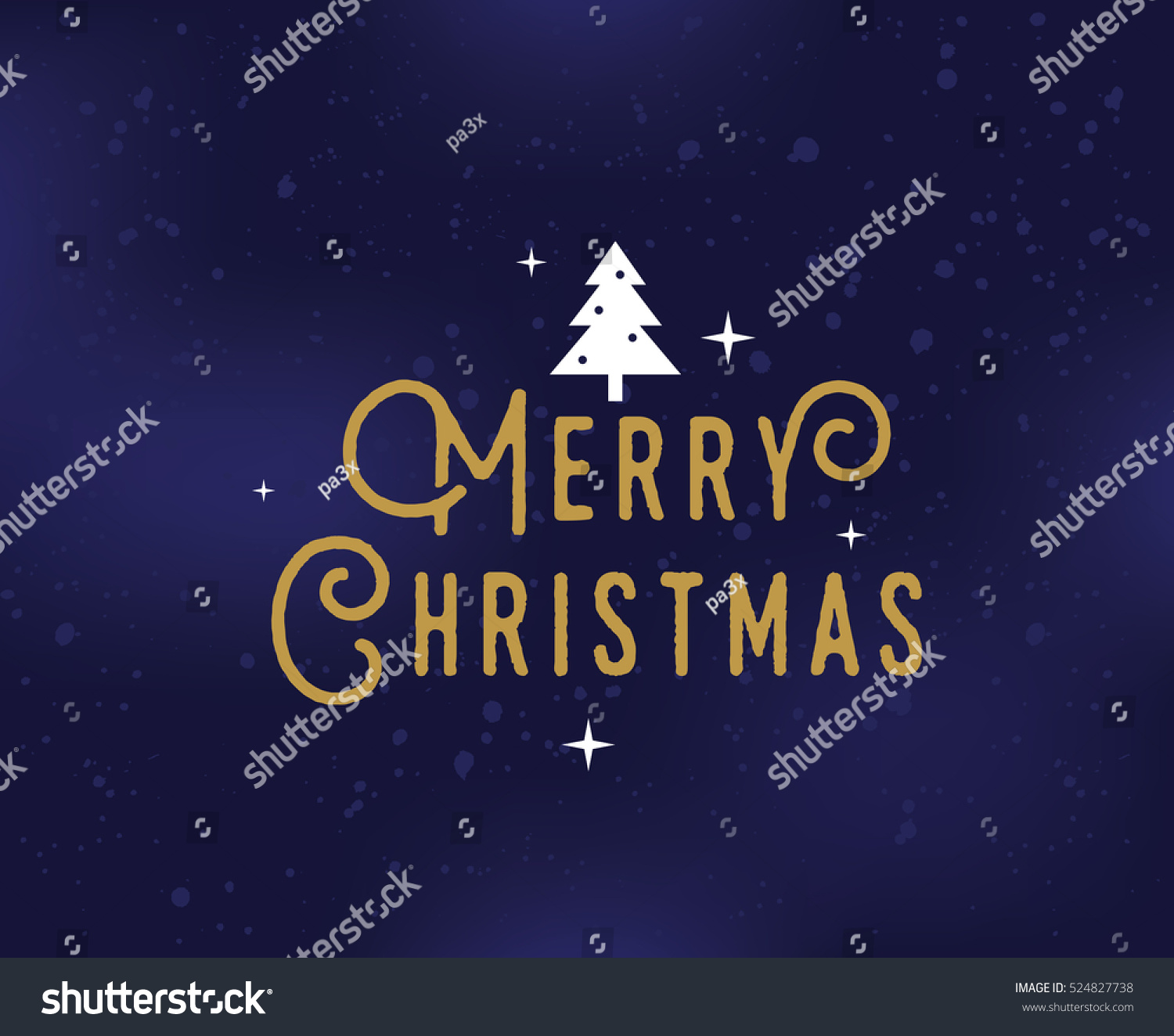 Merry christmas text design vector logo stock vector 524827738 merry christmas text design vector logo typography usable as banner greeting card kristyandbryce Image collections