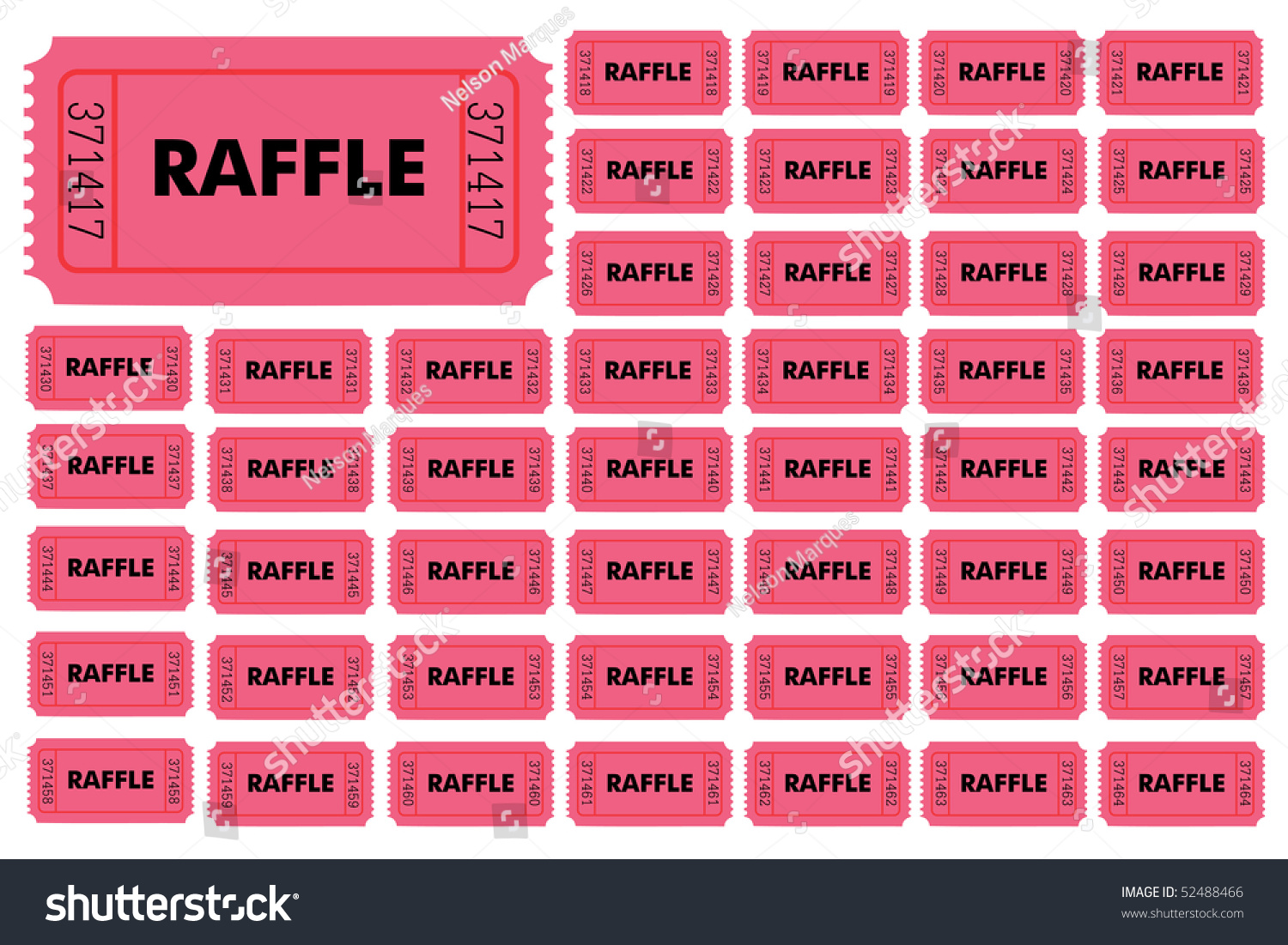 raffle tickets hold your own raffle stock vector  raffle tickets hold your own raffle