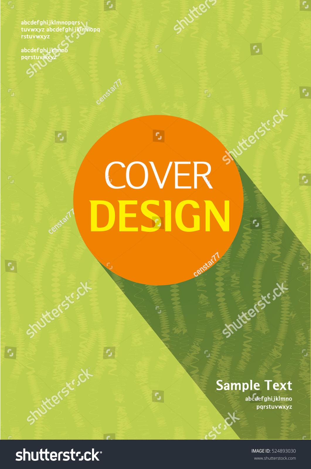 Book Cover Vector Graphic : Book cover design stock vector shutterstock