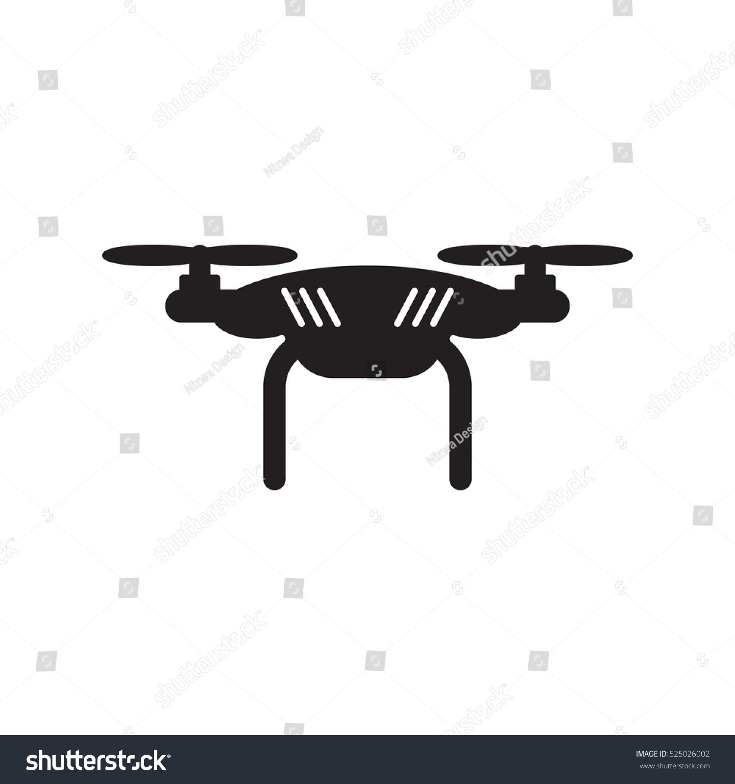 Robot Drone Logo Design Template