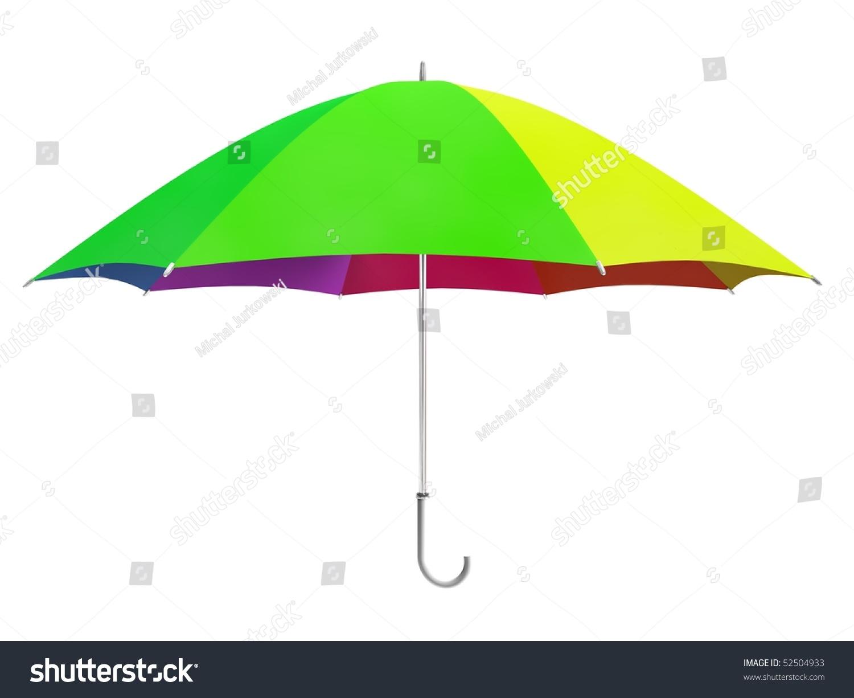 Design element - Colorful opening umbrella vector   EZ Canvas
