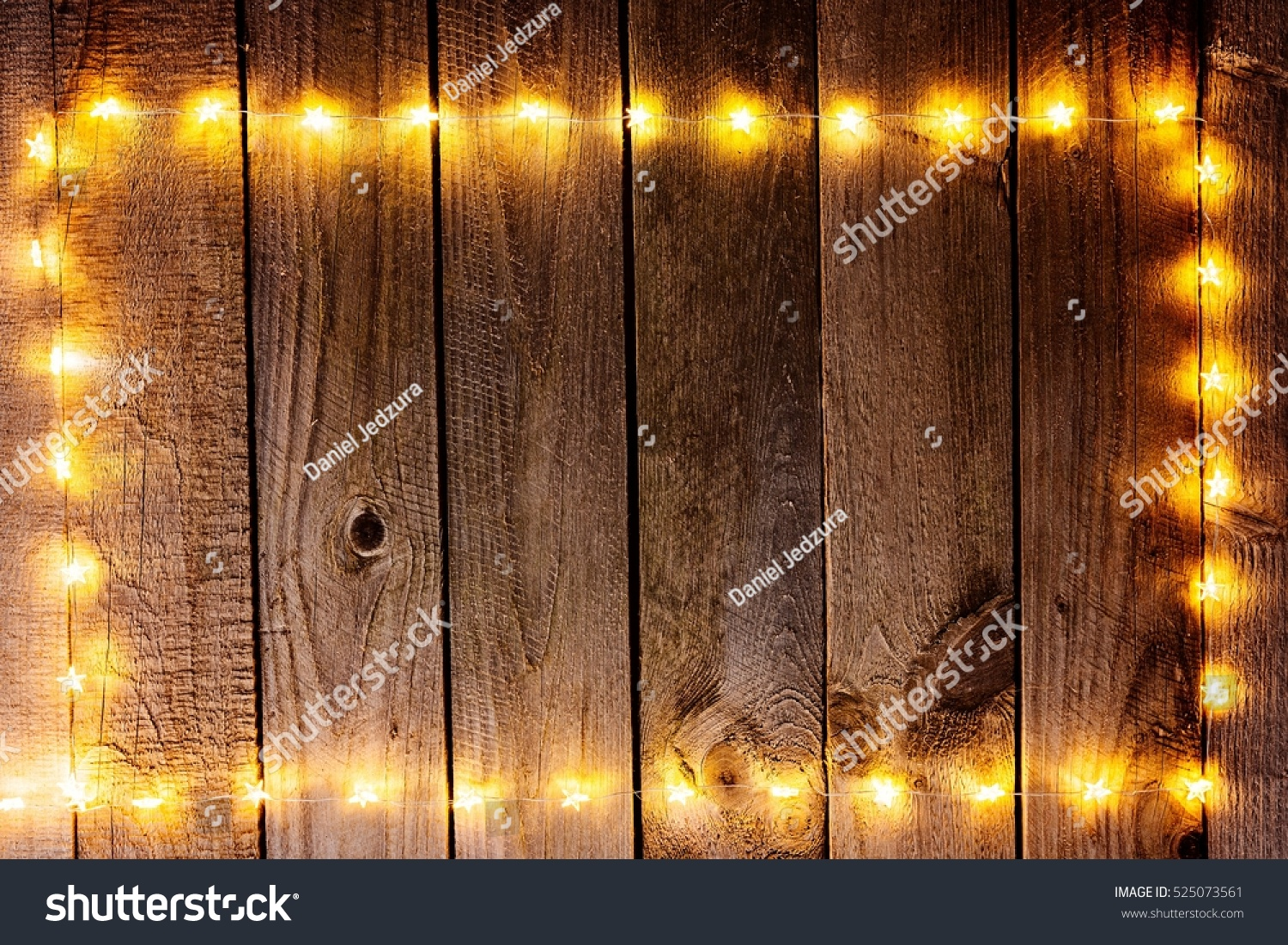 Old Wooden Rustic Christmas Background Star Stock Photo Royalty Free 525073561
