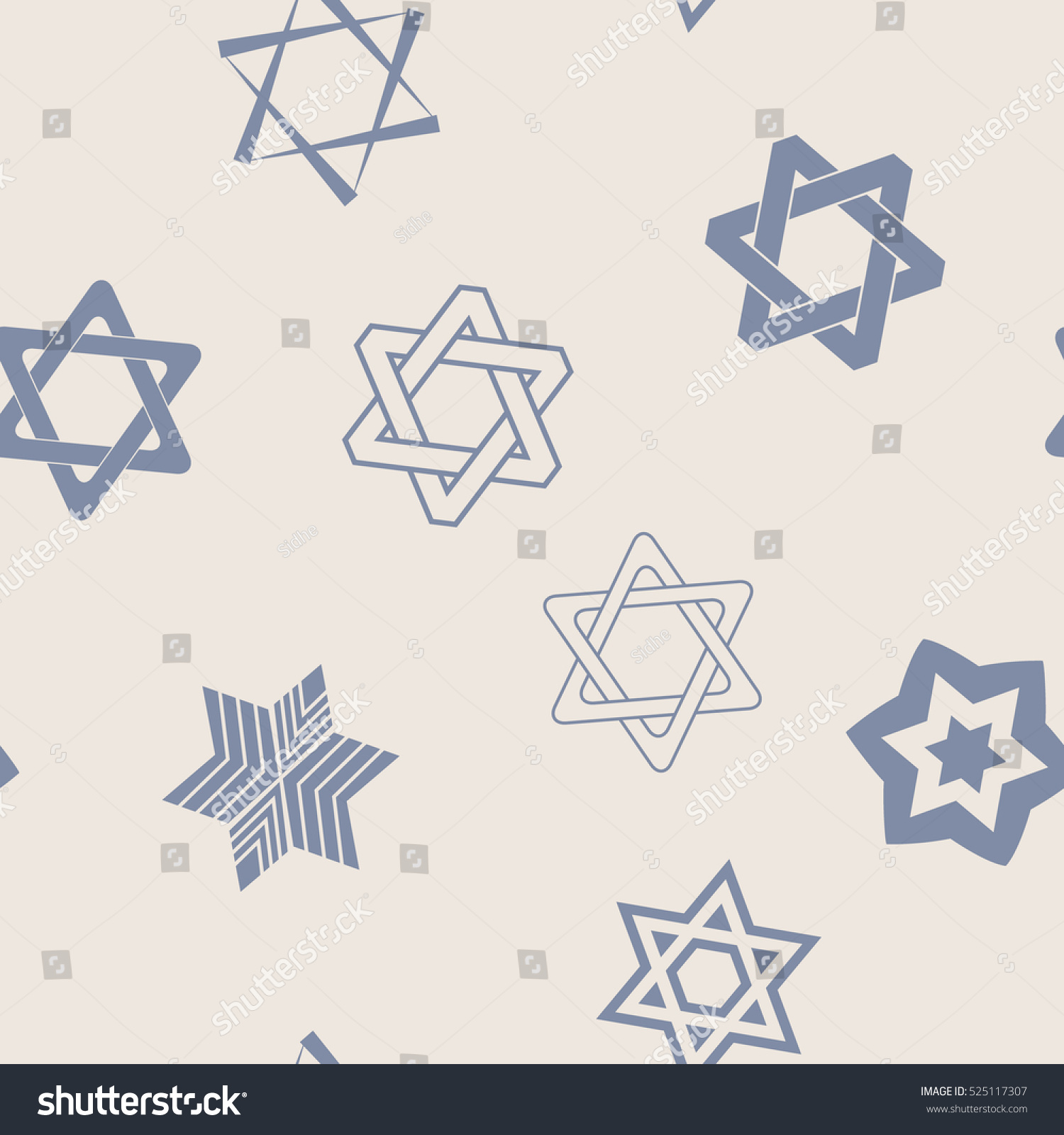 Seamless pattern star david traditional jewish stock vector seamless pattern with star of david traditional jewish symbol for your design biocorpaavc Choice Image