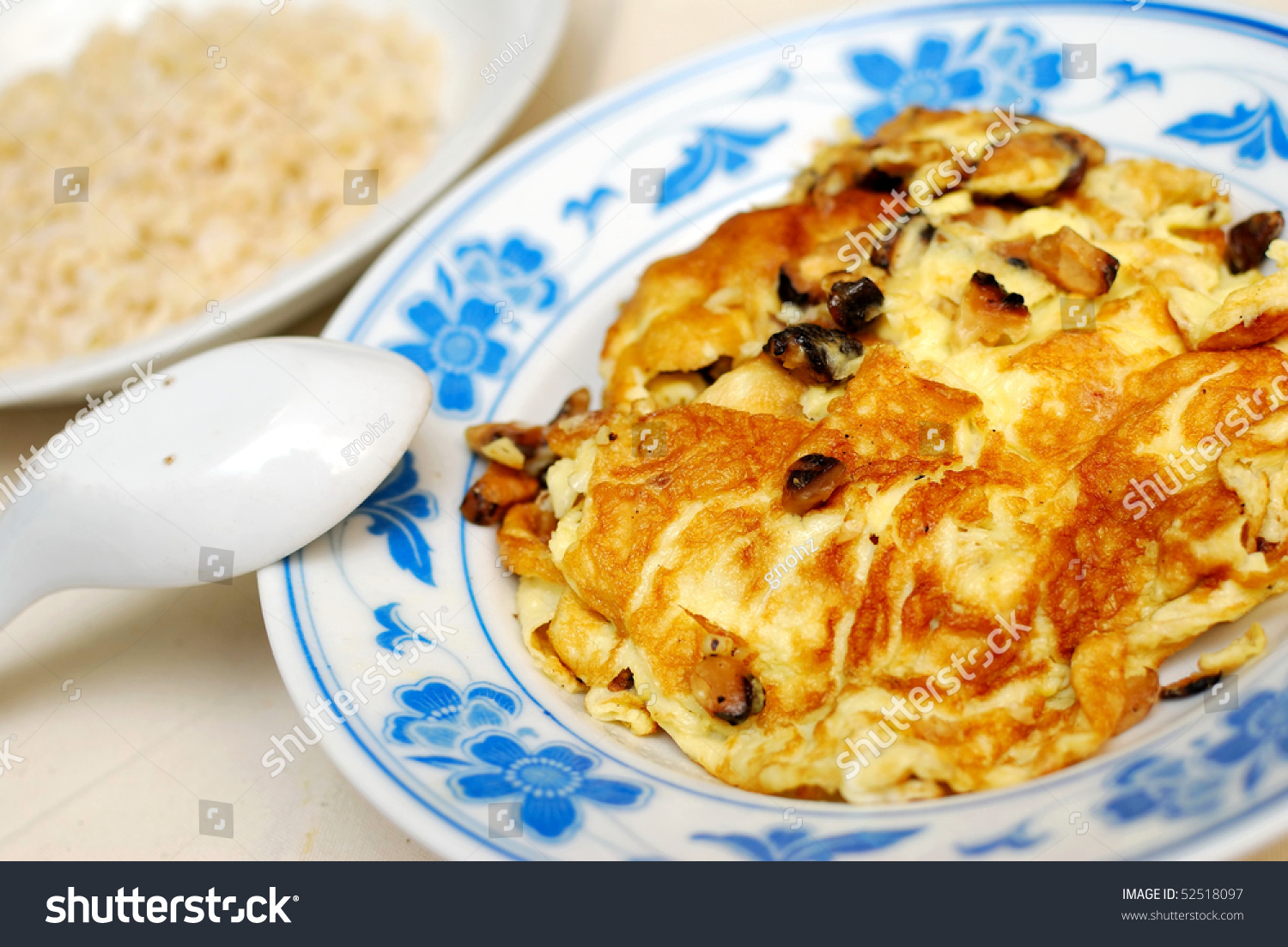 Fried Or Scrambled Egg Cooked Chinese Style With Healthy Brown How To Cook  Brown Rice With Diet To Lose Weight