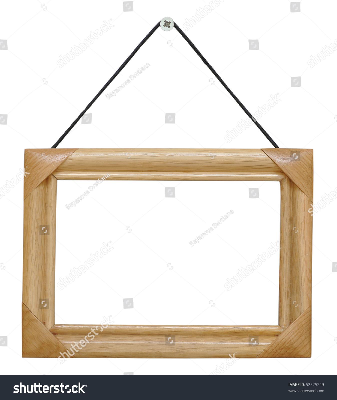 Retro Frame String Isolated On White Stock Photo (Edit Now) 52525249 ...