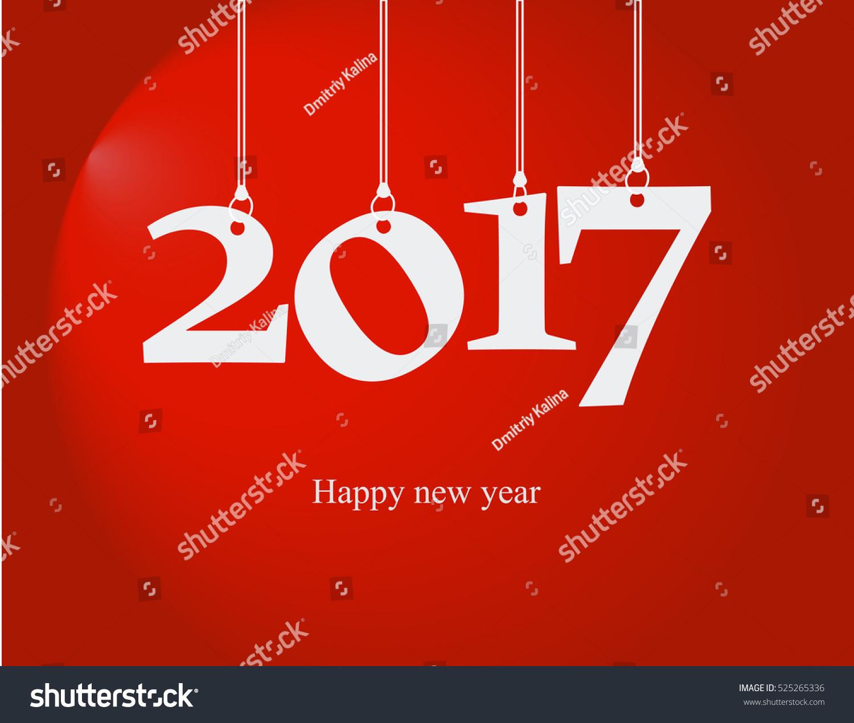 New 2017new Year Happy New Year happy Stock Vector ...