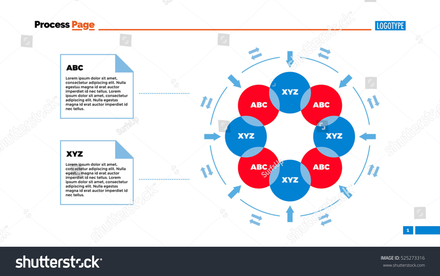 Six steps powerpoint circular diagram flow chart this circular circle flow chart template brightest star in ursa minor how to circular flow chart template 2jz nvjuhfo Image collections