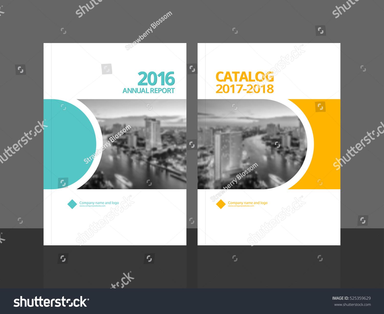 Cover design annual report business catalog stock vector for Design katalog