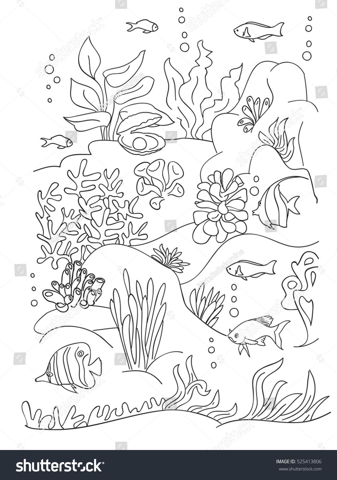 seaweed coloring pages eliolera com