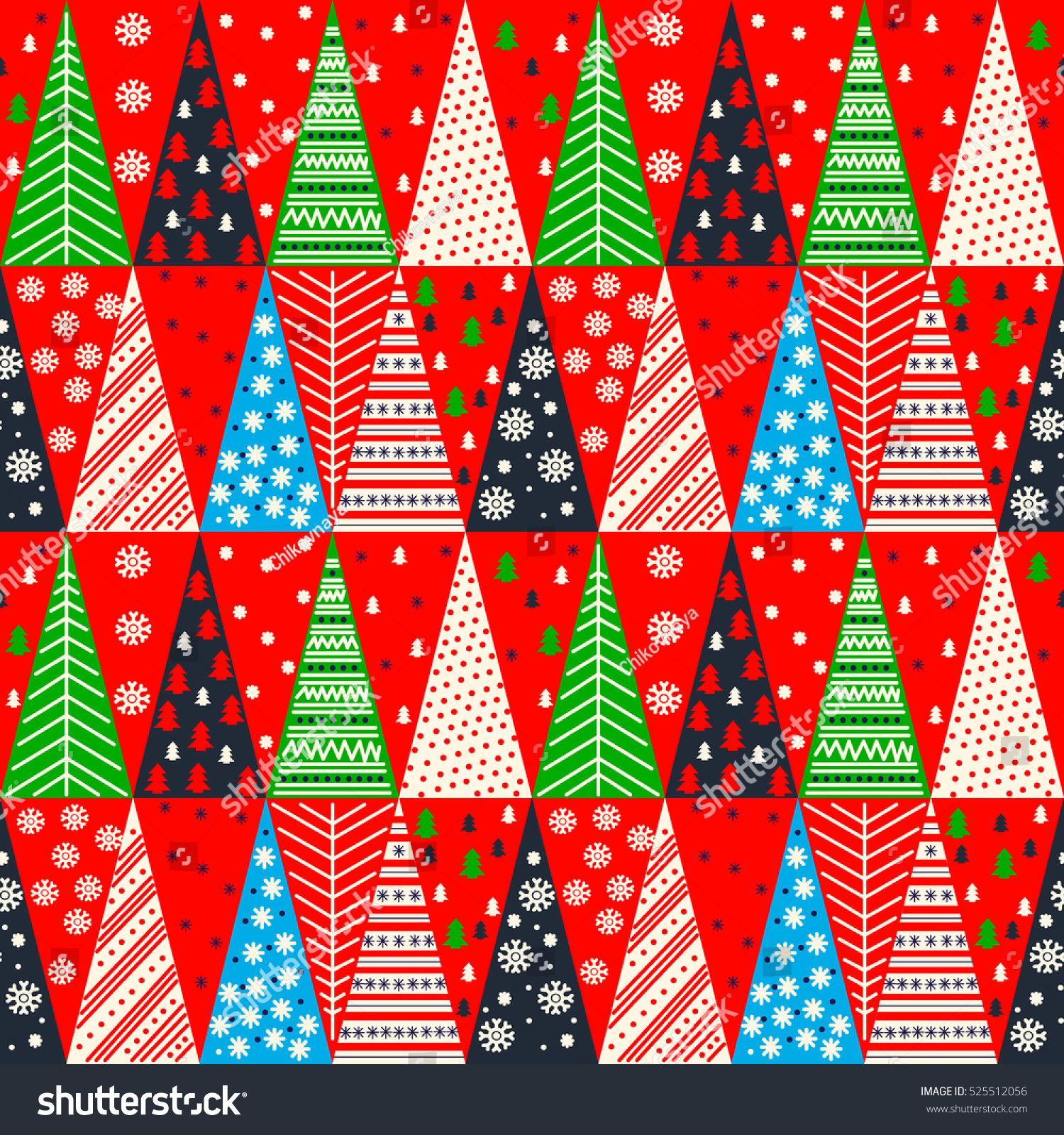 Pics photos merry christmas argyle twitter backgrounds - Merry Christmas Seamless Texture Pattern Vector