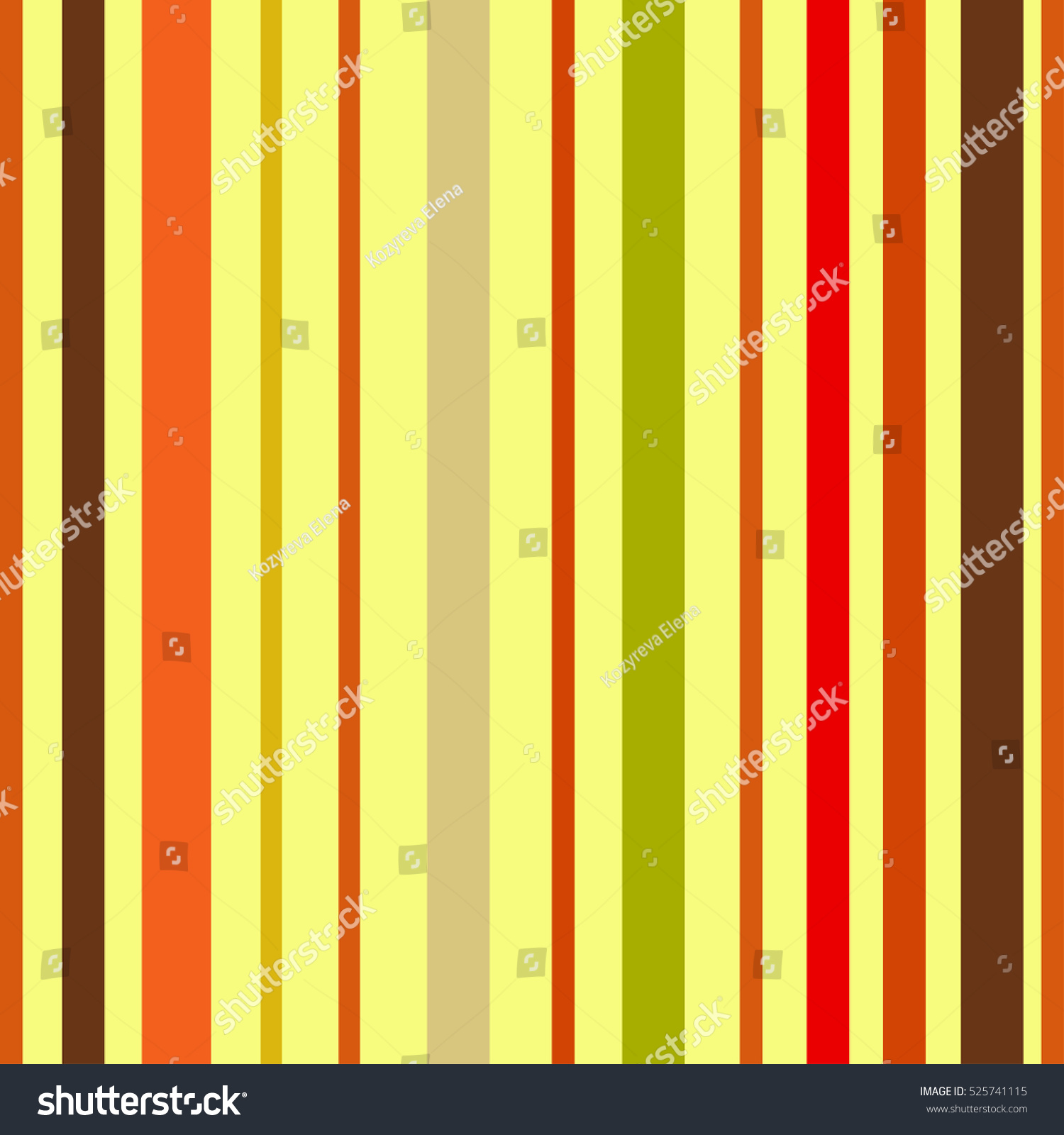 Bright Colorful Seamless Stripes Pattern Abstract Stock