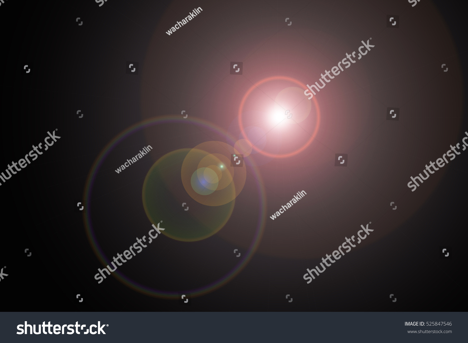 Sun Light Effect On Black Color Stock Illustration 525847546 ... for Sun Light Effect Background  150ifm