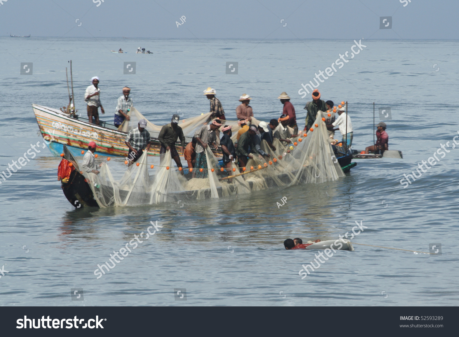 Alleppey india july 23 unidentified people stock photo for Videos of people fishing