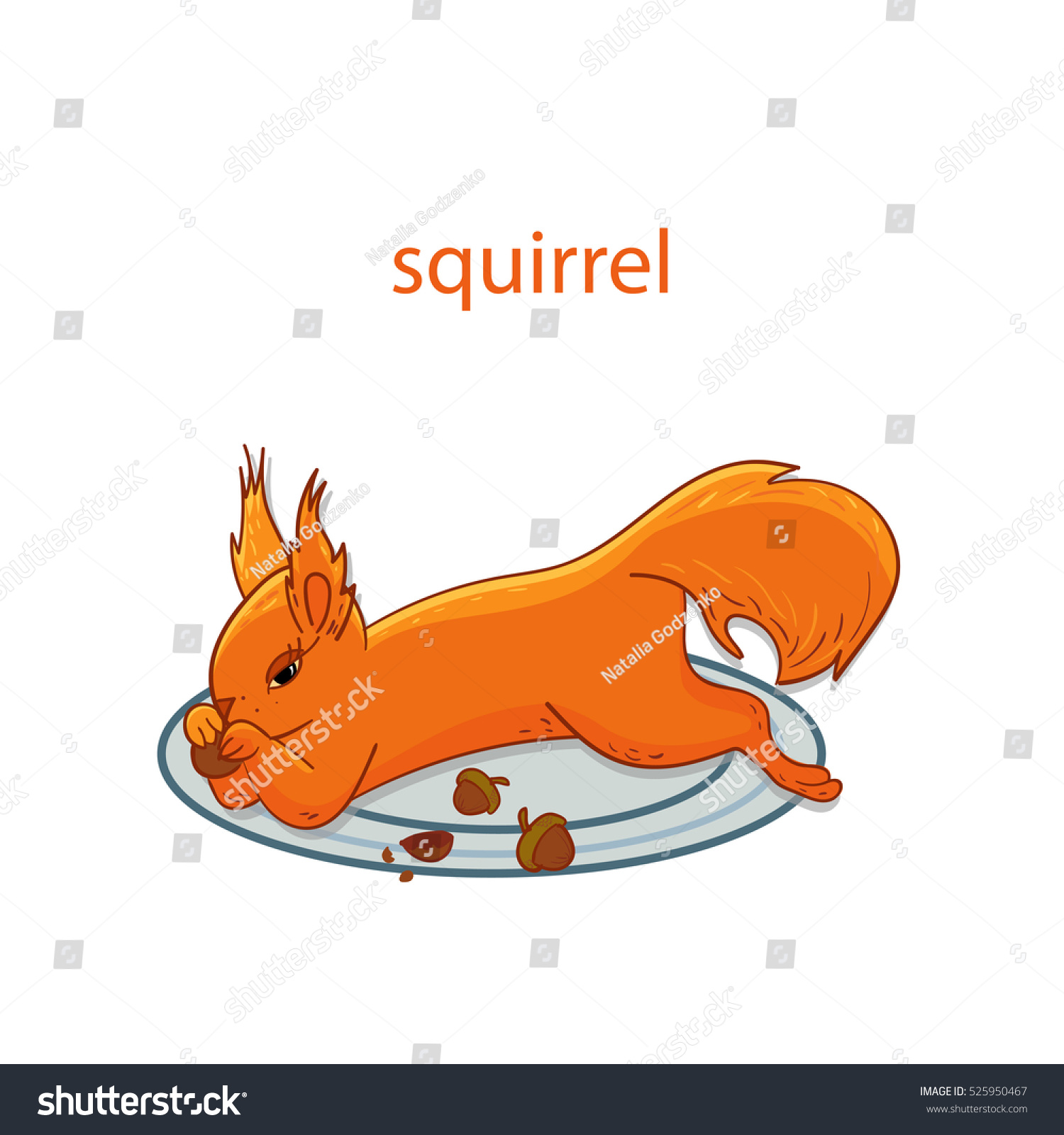 how to draw a squirrel running
