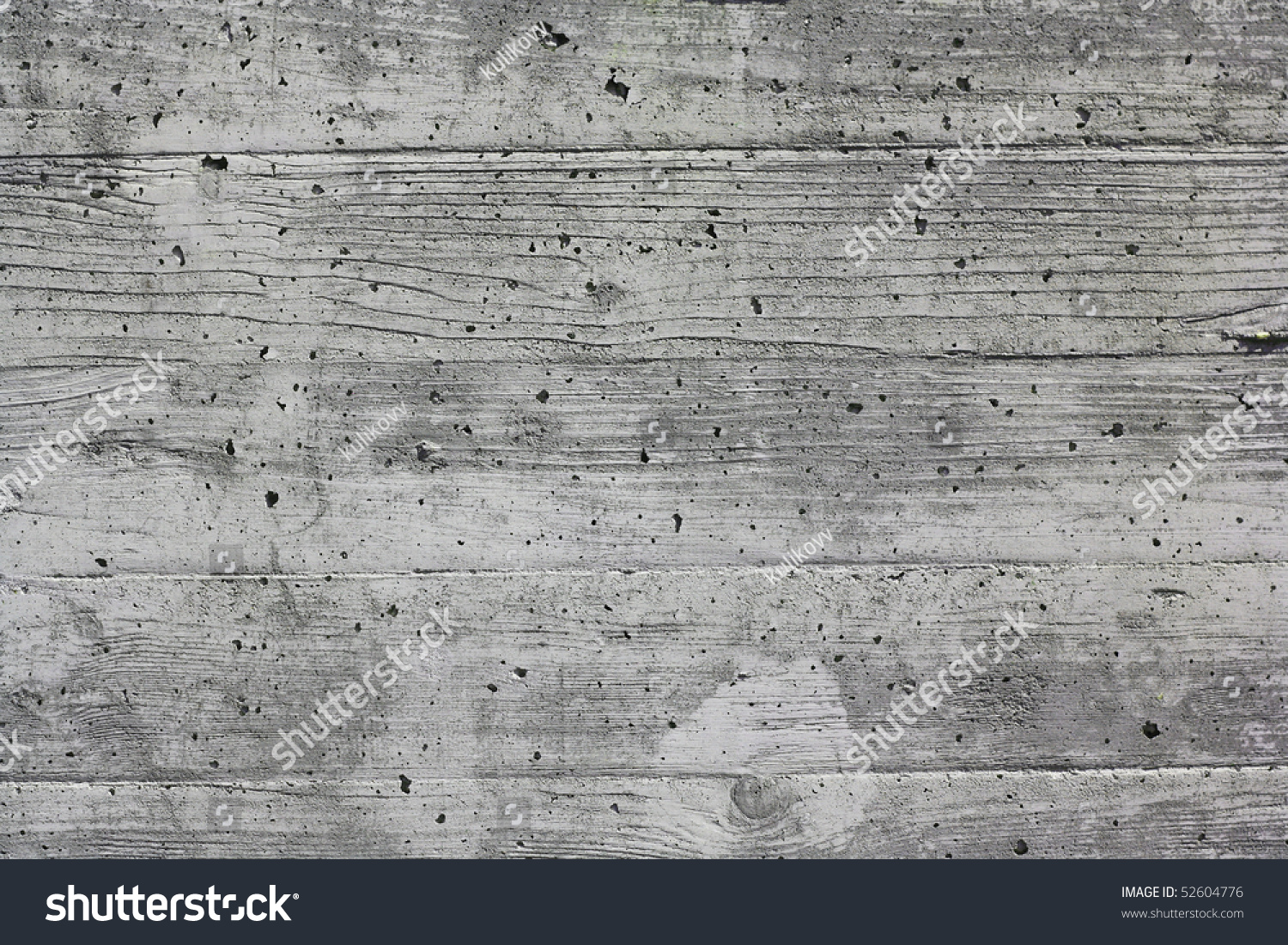 Form And Texture : After removal wooden form work concrete stock photo