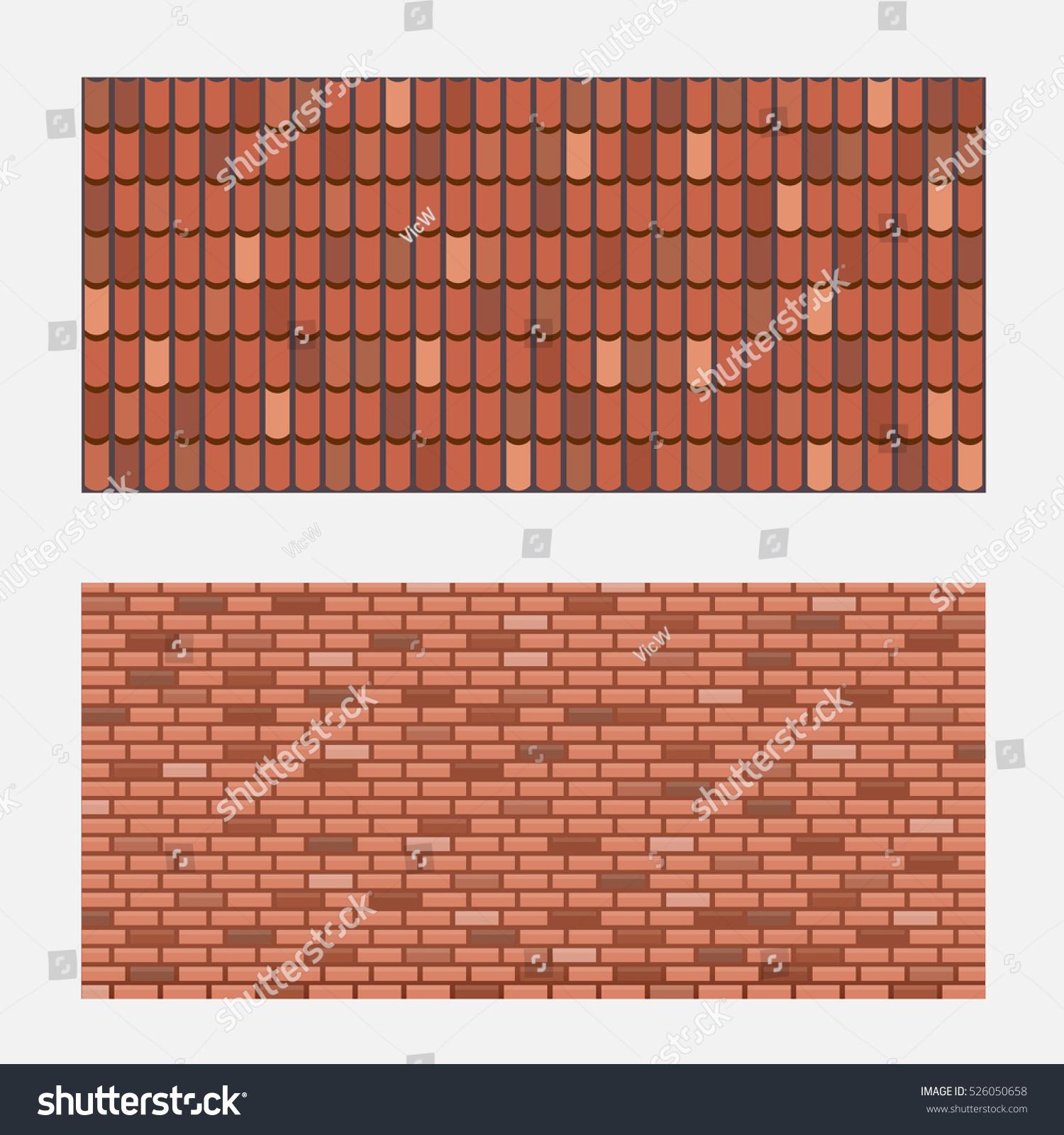 Brick Wall Design Tiles : Image photo editor shutterstock