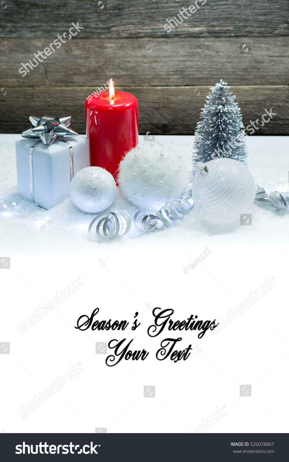 Holiday Background Card Blank Space Seasons Stock Photo Edit Now