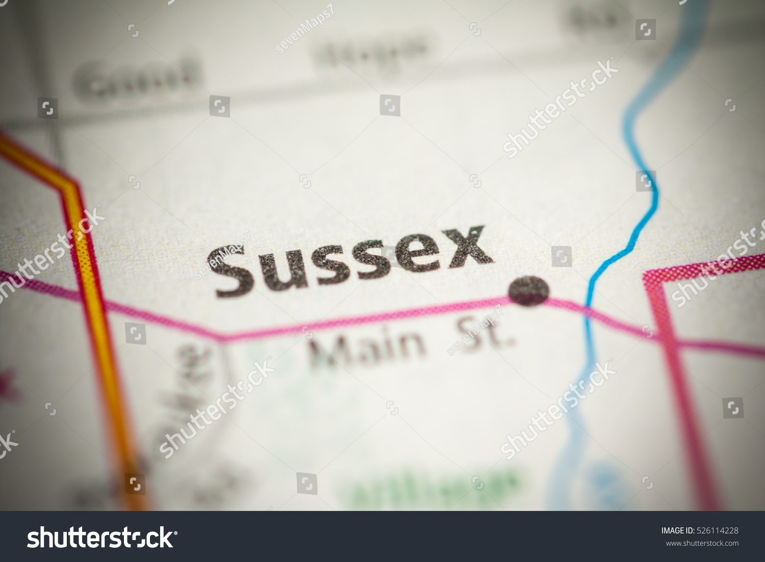 Sussex Wisconsin Map.Sussex Wisconsin Usa Stock Photo Edit Now 526114228 Shutterstock