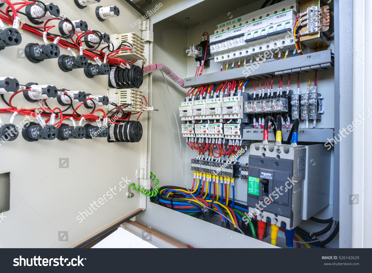 Kuala Lumpurmalaysia 29 Nov 2016 Circuit Stock Photo Edit Now Wiring Panel Board Breaker And Control
