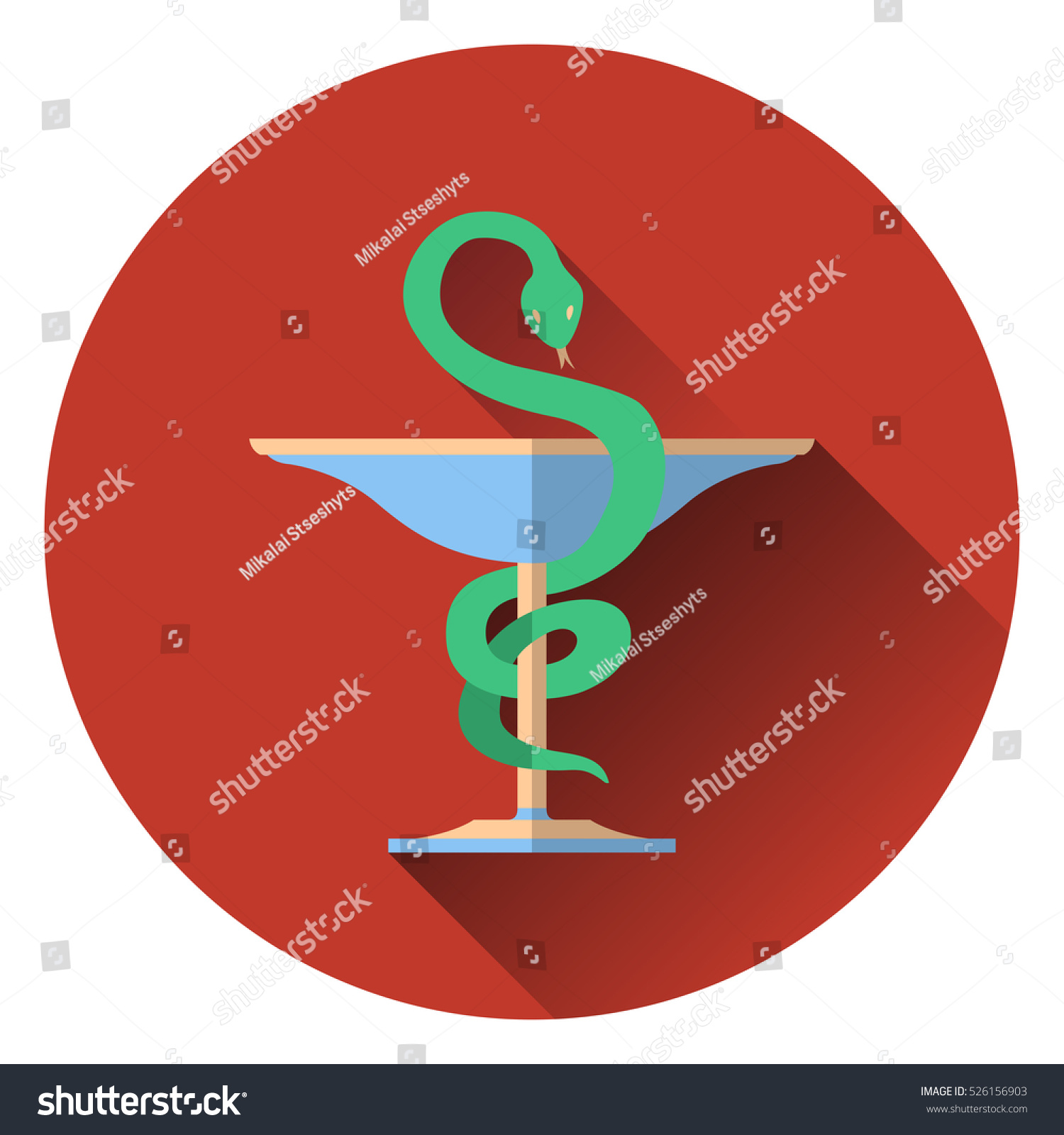 Bowl hygieia serpent medical symbol symbol stock vector 526156903 bowl of hygieia serpent medical symbol symbol of pharmacy emblem medicine buycottarizona Image collections