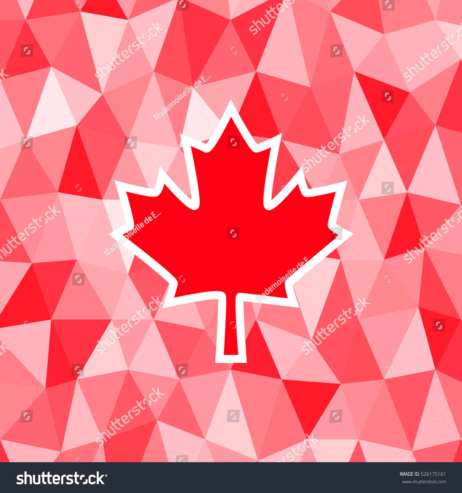 Royalty Free Stock Illustration Of Bright Background Canada Day