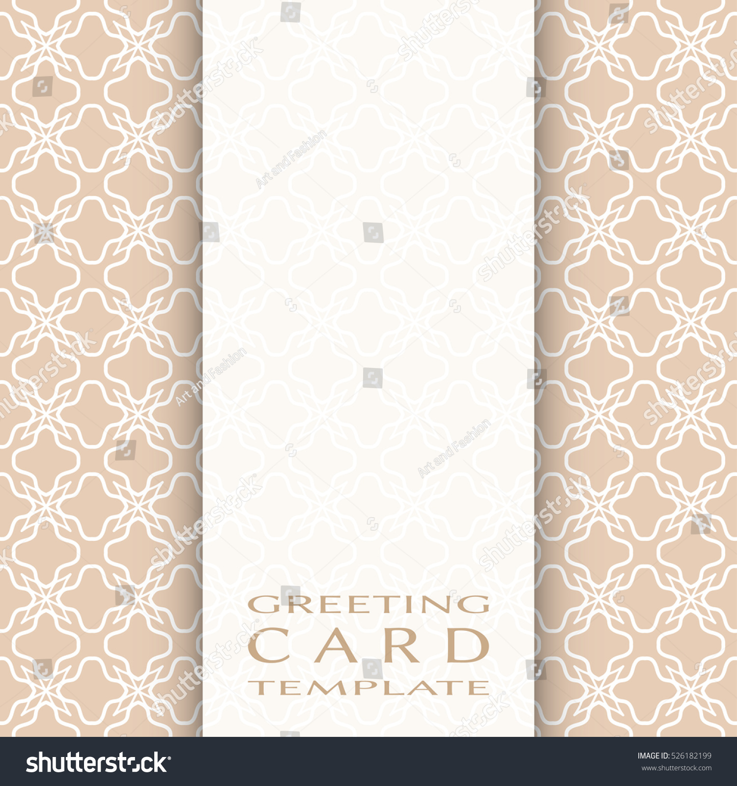 Invitation card template lace pattern decorative stock for Queue cards template