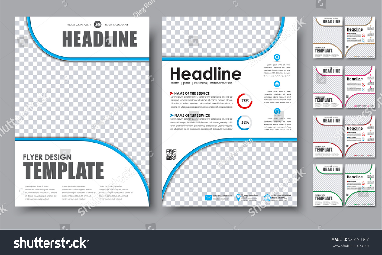 2 page brochure template