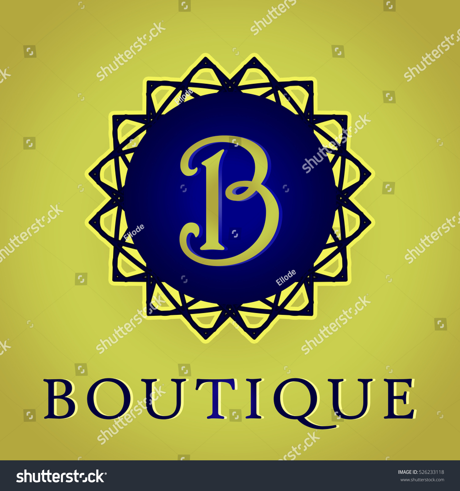 Boutique hotel and spa logo design stock photo 526233118 for Boutique hotel logo