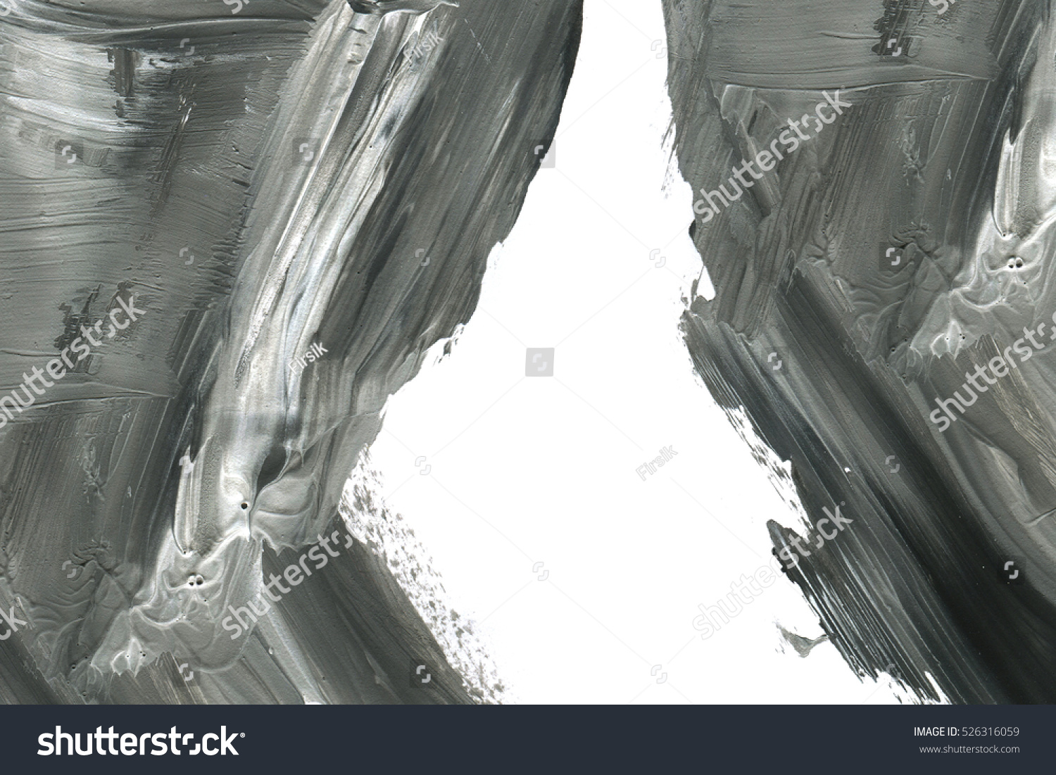 Marble style. Black and white paint stroke texture. Macro image of spackling paste. Wallpaper for web and game design. Drywall mud art.