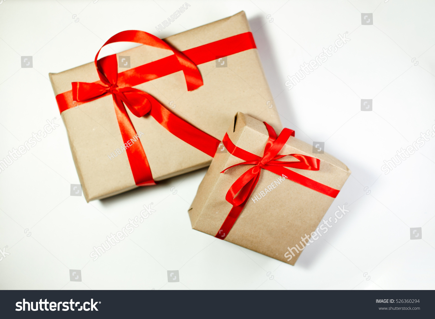 Classy Christmas Gifts Box Presents On Stock Photo (Edit Now ...