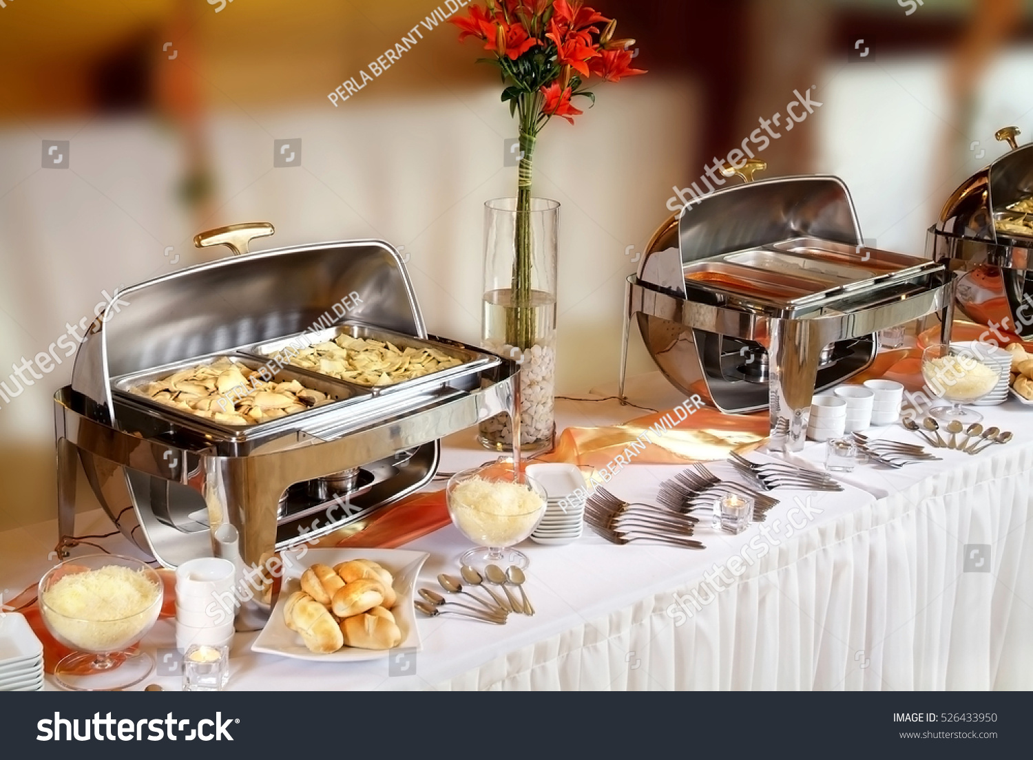 Buffet Catering Table Food Hotel Restaurant Stock Photo Edit Now