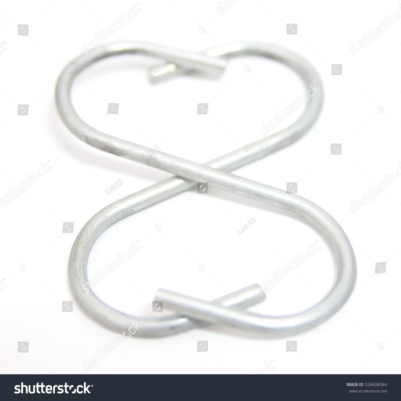 Double Heart Symbol From S Shape Hook Ez Canvas