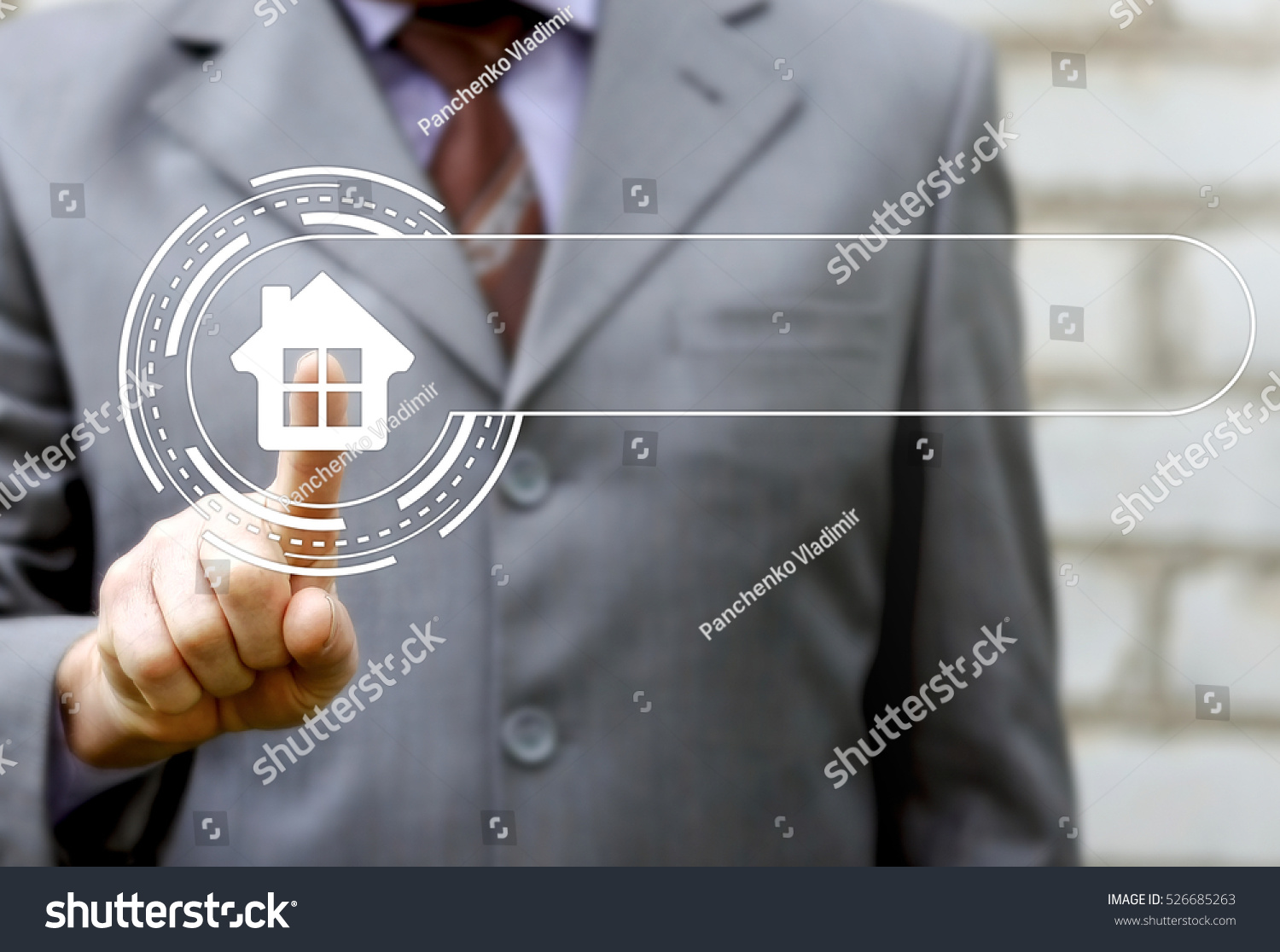 Business Real Estate Building House Sale Stock Photo 526685263 ...