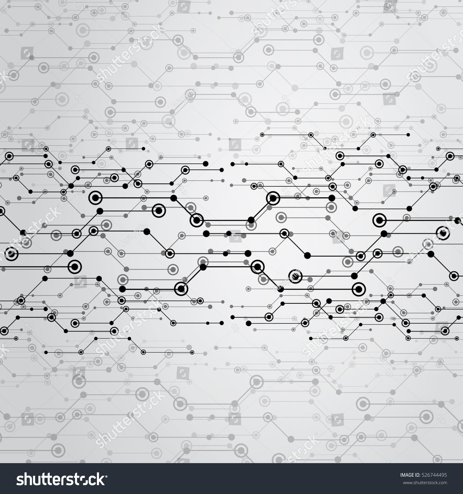 Abstract moving background white dots connected on fresh green stock - Gray Background For Design The Technology And Networking Science Abstract Background With Connecting Dots And