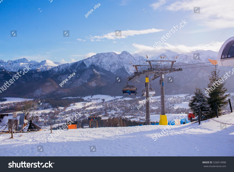 view ski resort zakopane poland stock photo (edit now) 526814908
