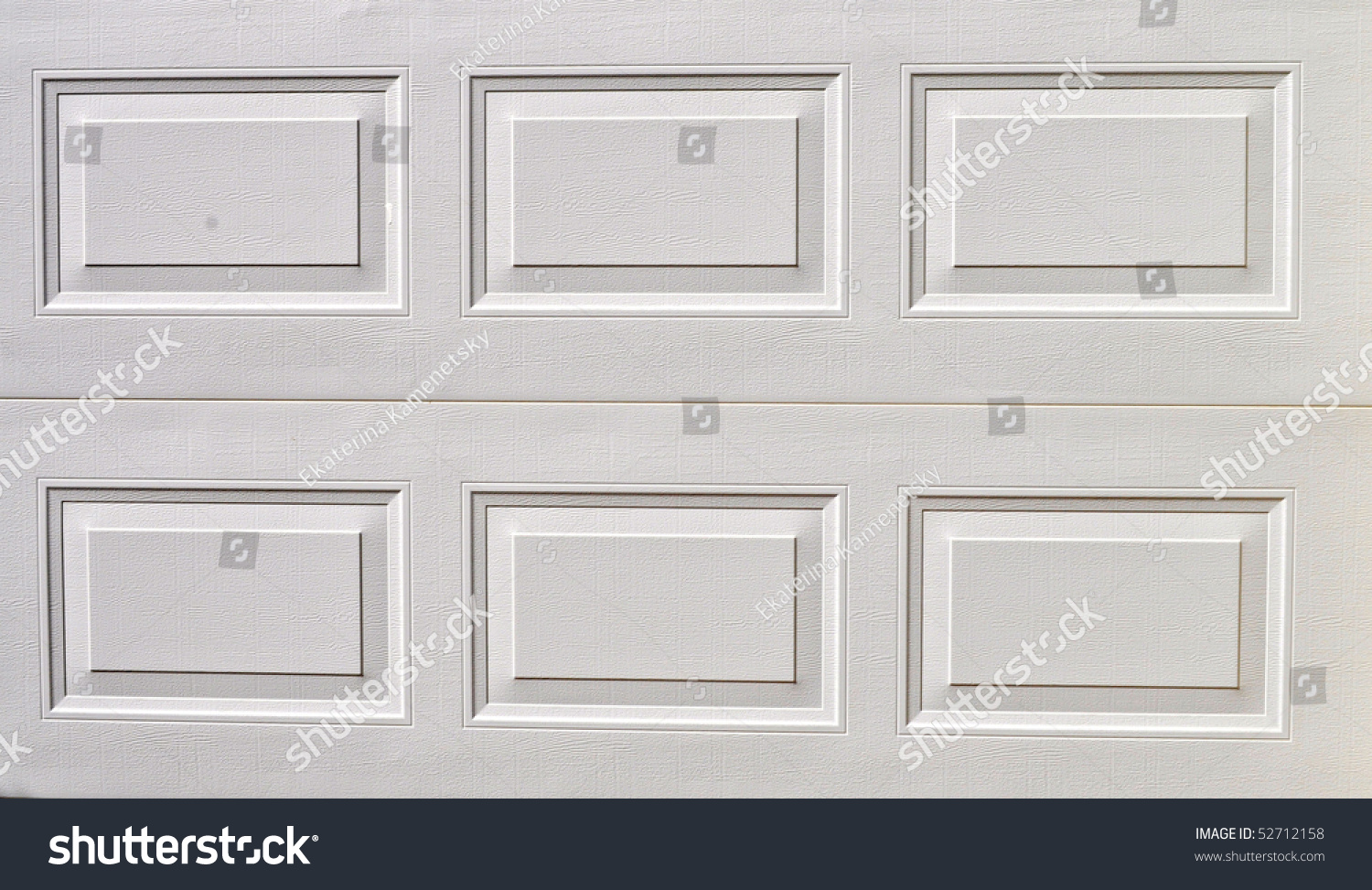 White Garage Door Texture