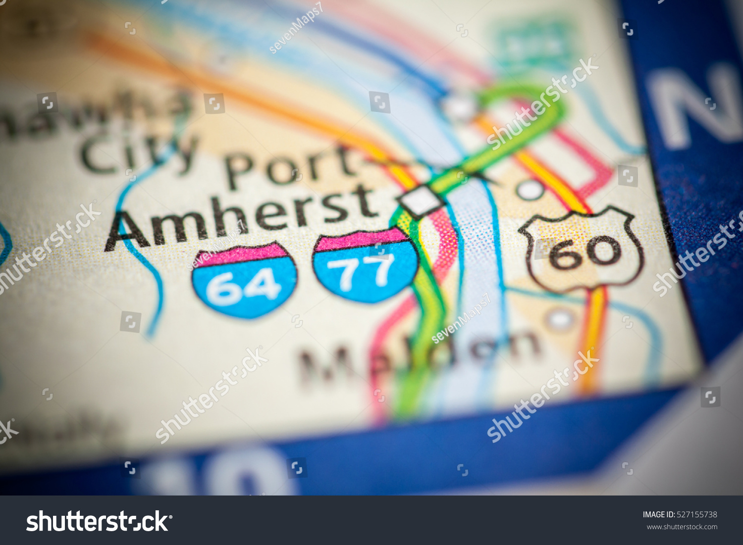 I 77 West Virginia Map.I 77 West Virginia Usa Stock Photo Edit Now 527155738 Shutterstock